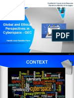 Global and ethical perspectives in cyberspace