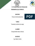 Resumen - Transistor FET
