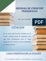 MEDIDAS DE COERCIÓN PERSONALES PDF
