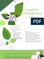 Diseños Experimentales 13Enero