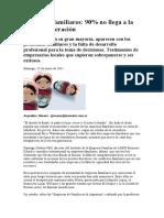 Empresas familiares - diario Los Andes