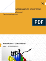 SESION 1 - INNOVACIÓN Y EMPRENDIMIENTO DE EMPRESAS