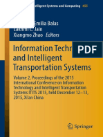 (Advances in Intelligent Systems and Computing 455) Valentina Emilia Balas, Lakhmi C. Jain, Xiangmo Zhao (eds.) - Information Technology and Intelligent Transportation Systems_ Volume 2, Proceedings o