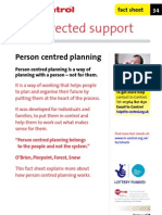 In Control Factsheet 34 Person Centred Planning