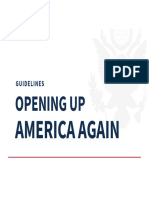 Opening Up American Again