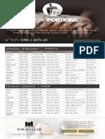 Torah Portions 2019_2020
