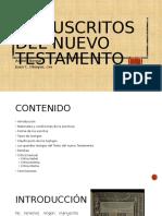 Los Manuscritos del nuevo testamento final.pptx
