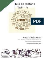 Módulo de História TAP V