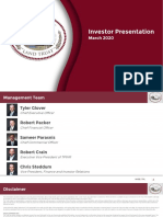TPL Presentation March 2020