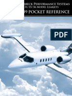 Learjet Addon Kit Pocket Reference 2009