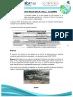 A.M. Acueducto Rural - Platanillal - Villahermosa - Esquemas Diferenciales.