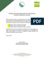 Informe de Difusión Web y RR.SS.