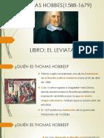 EL LEVIATÁN- THOMAS HOBBES(1588-1679)