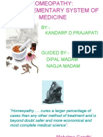 Principles of Homeopathy