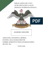 ANALISIS DEL CORONAVIRUS estadistica.pdf