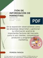 GESTIÓN DE INFORMACIÓN DE MARKETING