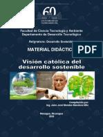 Visión Católica del Desarrollo Sostenible