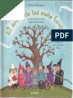 El árbol de las sietes brujas y otras historias entre - las – hadas. Silvia Schujer. Ilustrado por Javier González Burgos. Editorial Atlántida (Muestra sin valor comercial)