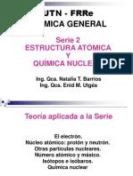 SERIE 2, ESTRUCTURA ATÓMICA Y QUÍMICA NUCLEAR