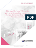 Ciberseguridad en el Teletrabajo_Check Point