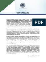 Comunicado Bcv-reserva Federal 20200416