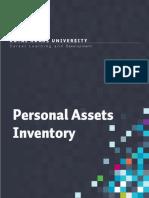 A1_RRU Personal Assets Inventory Workbook1