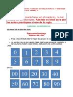 4° SEMANA DE ABRIL MATEMÁTICA Y NATURALES ACT PARA LA SEMANA DEL 20 AL 24 DE ABRIL