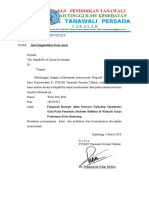 Surat Izin Pengambilan Data dinkes
