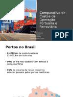Comparação dos Custos de Operação de Portos e Ferrovias