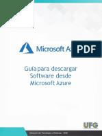 Guía para descargar Software desde Microsoft Azure[2191]