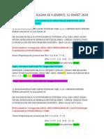 FORUM 1 KULIAH KE  4 (EMPAT) PERENCANAAN JARINGAN IRIGASI DAN DRAINASE (1)