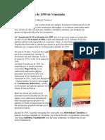 La Constitución de 1999 de Venezuela