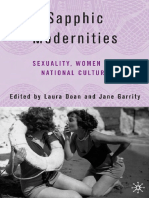 Jane Garrity, Laura Doan - Sapphic Modernities_ Sexuality, Women and National Culture (2006)