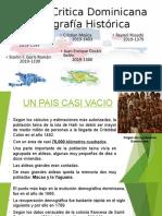 DEMOGRAFÍA HISTÓRICA Republica Dominicana Historia Crítica (1)