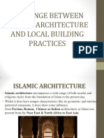 Modern and Traditional Islamic