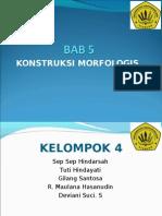 Final Tugas Morfologi BAB 5