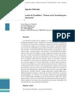Analisis de la Escuela de frankfurt