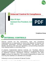 Internal Control & Compliance