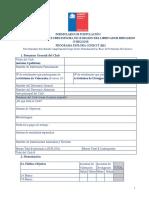 FORMULARIO DE POSTULACIÓN I CONCURSO DE CLUBES O'HIGGINS (Reparado)