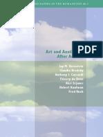 Art and Aesthetics After Adorno - J. M. Bernstein(2)