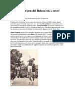 Historia y origen del Baloncesto a nivel mundial