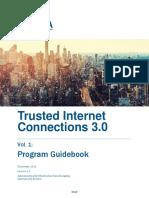 Draft TIC 3.0 Vol. 1 Program Guidebook