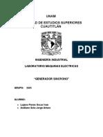 generador sincrono