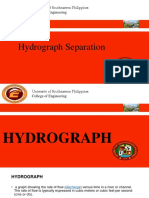 Hydrograph Separation