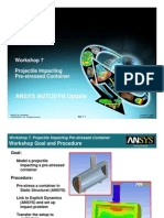 Ansys Autodyn 120 Workshop 07