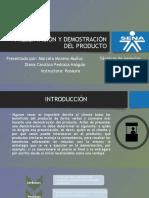 PRESENTACIÓN Y DEMOSTRACIÓN DEL PRODUCTO.pptx.pptx
