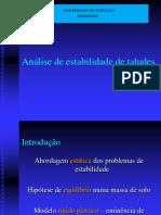Anailise de estabilidade de taludes BARRAGENS.pdf