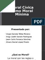 Moral cívica - etica