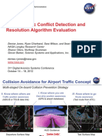 Airport Traffic Conflict Detection and Resolution