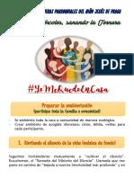 MIÉRCOLES DE REENCUENTRO DE LA TERNURA